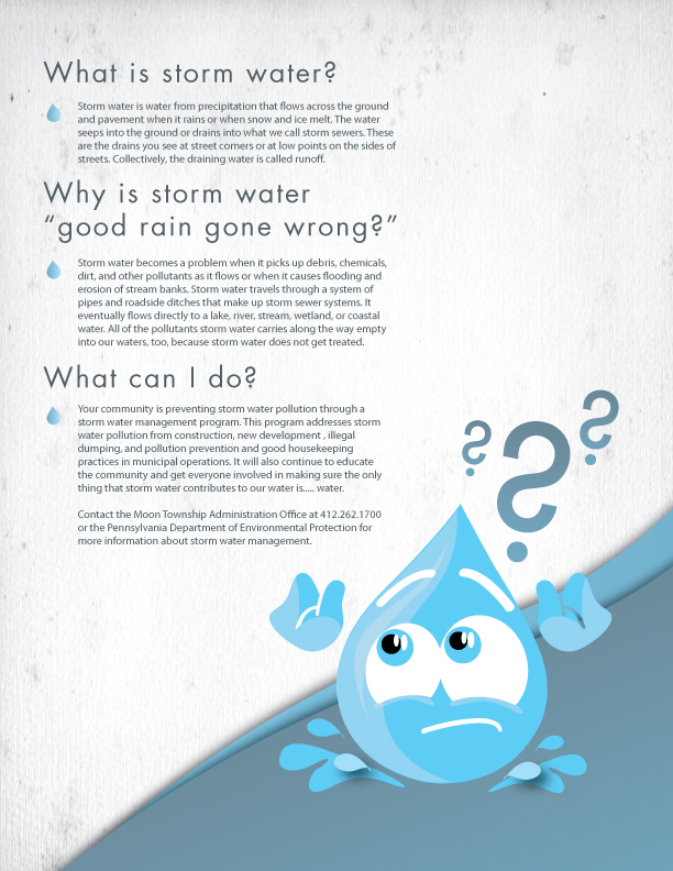 Storm water Poster